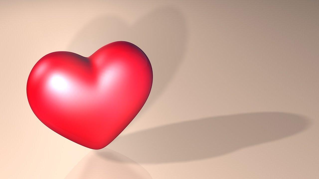 Valentines Day Romantic Love 3D Heart