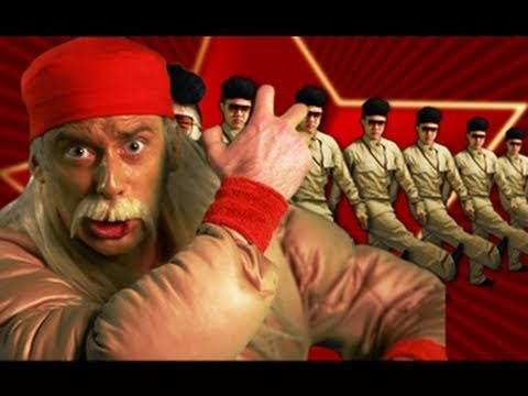 Hulk Hogan and Macho Man VS Kim Jong-il - Epic Rap Battles of History 5