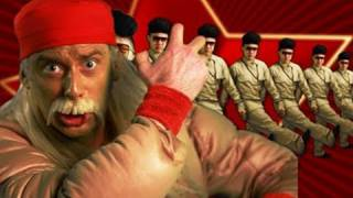 Repeat youtube video Hulk Hogan and Macho Man VS Kim Jong-il - Epic Rap Battles of History 5