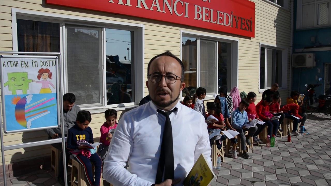 Ayrancı 'Her yerde okuyorum' projesi