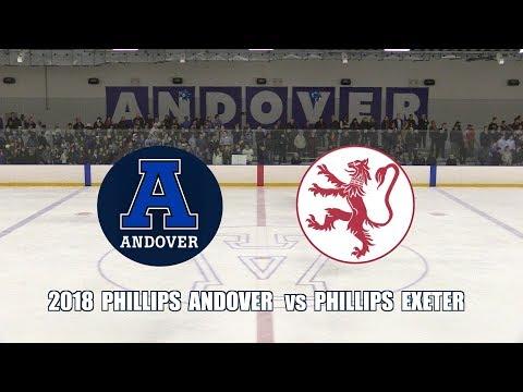 2018 Phillips Academy Andover Hockey vs  Phillips Exeter