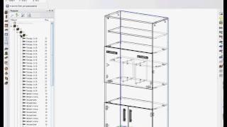 Базис-Мебельщик 8.0 Создание схемы сборки