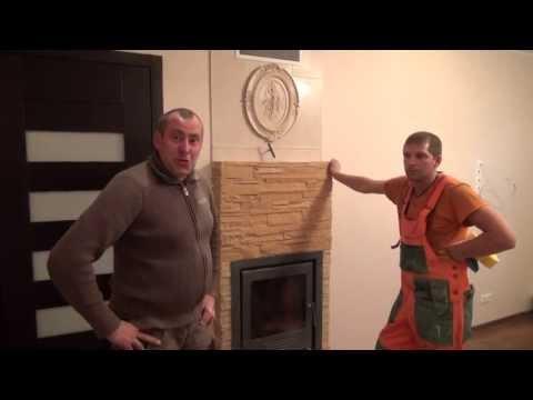 видео: эксклюзивный Камин своими руками в копилку идей Владимир Волошин brigada1.lv