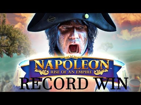 RECORD WIN!! Napoleon BIG WIN From Blueprint - Our Biggest Win Ever On This