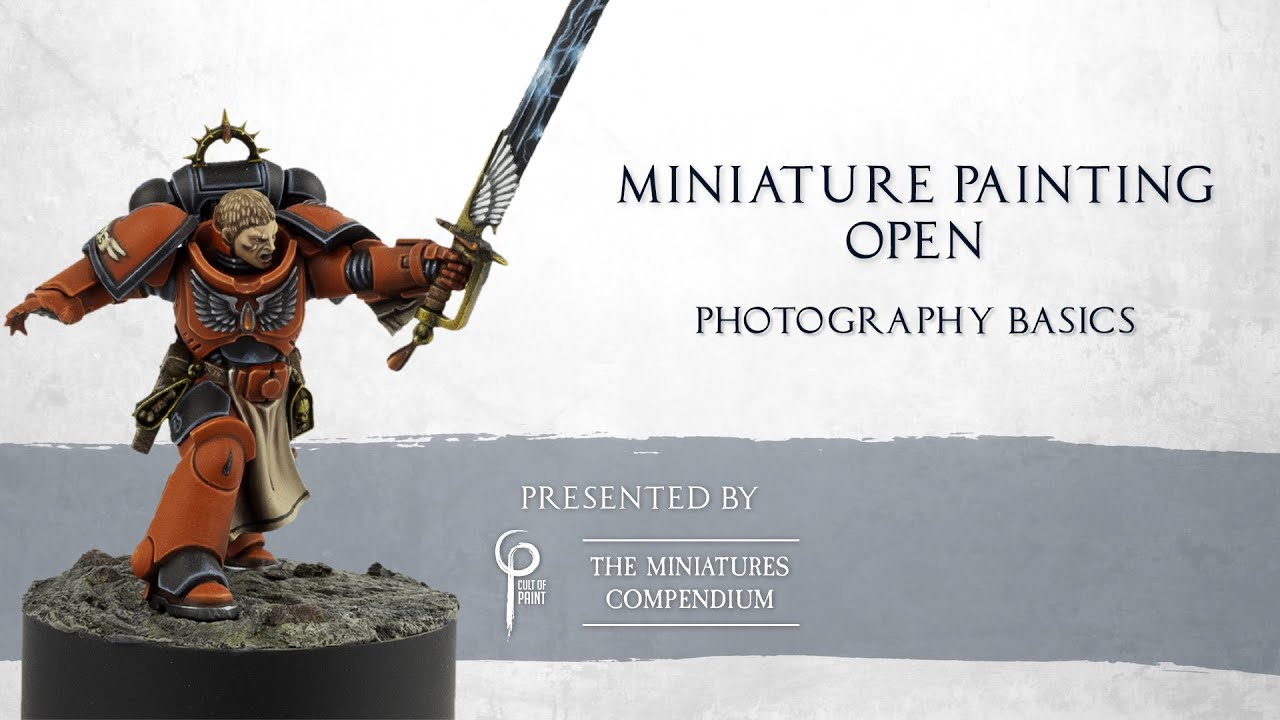How to get the best Photograph of your Painted Miniatures, INCLUDING post production.