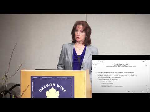 2017 Oregon Wine Symposium | Tracking and Reducing Winery Water Usage