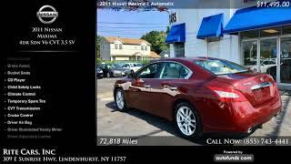 Used 2011 Nissan Maxima | Rite Cars, Inc, Lindenhurst, NY