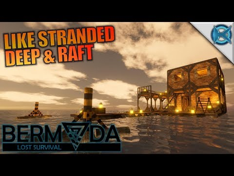 LIKE STRANDED DEEP & RAFT | Bermuda - Lost Survival | Let's Play Gameplay | S01E01
