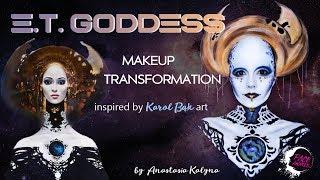 NYX Face Awards Ukraine 2018 ENTRY   E.T. Goddess Makeup by Anastasia Kalyna