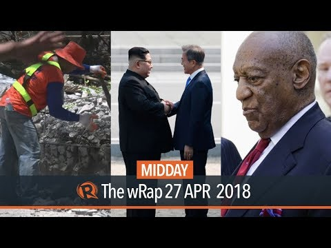 Kim and Moon meeting, Demolition of Boracay structures, Cosby found guilty | Midday wRap