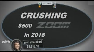 "Fried ""mynameiskarl"" Meulders DESTROYS 500 Zoom on Pokerstars in 2018!"