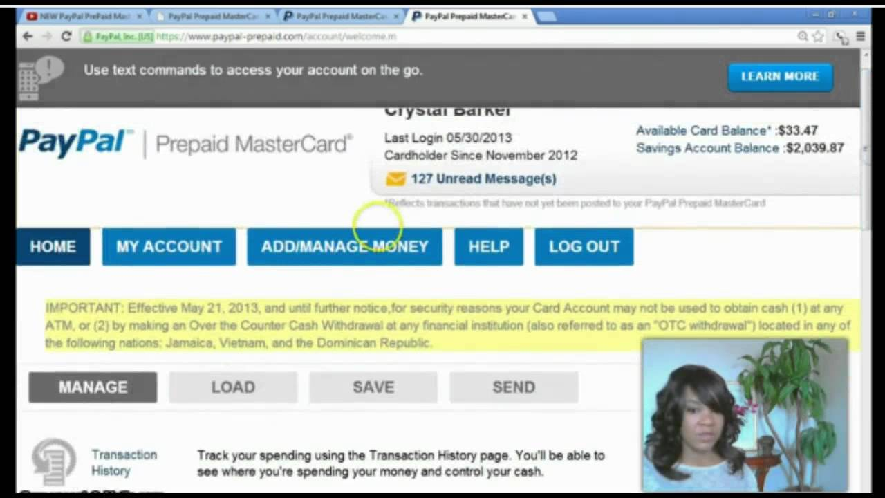 paypal prepaid mastercard set up youtube - Where Can I Buy A Paypal Prepaid Card