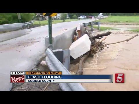 Flash Flooding Hits Sumner County