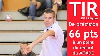 TOP vidéo au tir de précision : Dylan ROCHER à 1 petit point du record du monde !