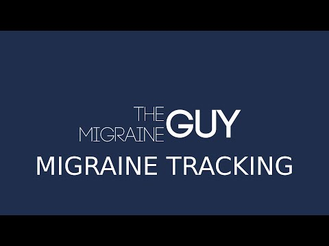 The Migraine Guy - Using a Migraine Journal and Tracker