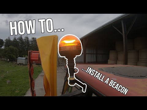 HOW TO INSTALL A TRACTOR BEACON LIGHT