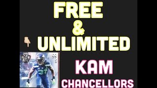 "Madden mobile: 99 kam chancellor glitch *FREE AND UNLIMITED KAMS"" (PATCHED)"