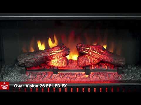 Электрический Очаг Royal Flame Vision 26 EF LED FX. Видео 1