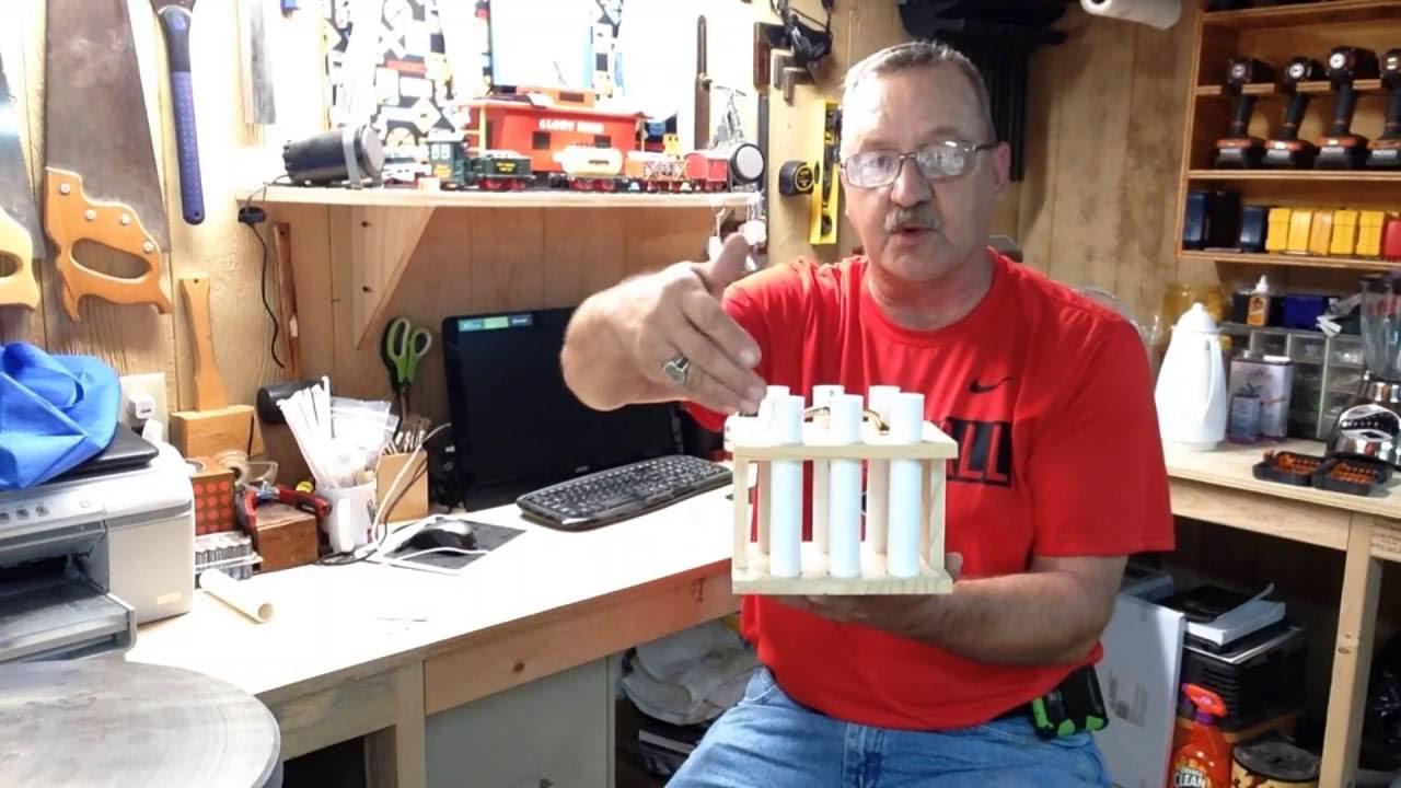 building a mold rack for pen blanks youtube