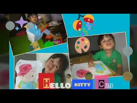 Mewarnai Gambar Hello Kitty Youtube