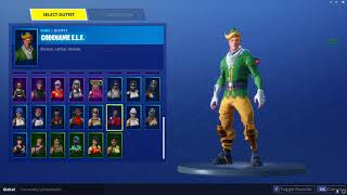 AERIAL ASSAULT TROOPER + CODE NAME ELF ACCOUNT FOR TRADE FORTNITE! *RAREST SKIN!*