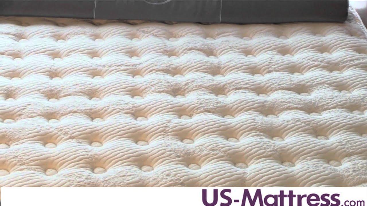 Serta Perfect Day iSeries Applause Plush Mattress - YouTube