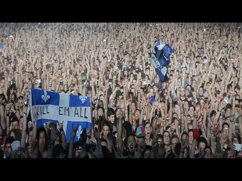 Metallica: Thank You, Quebec City!