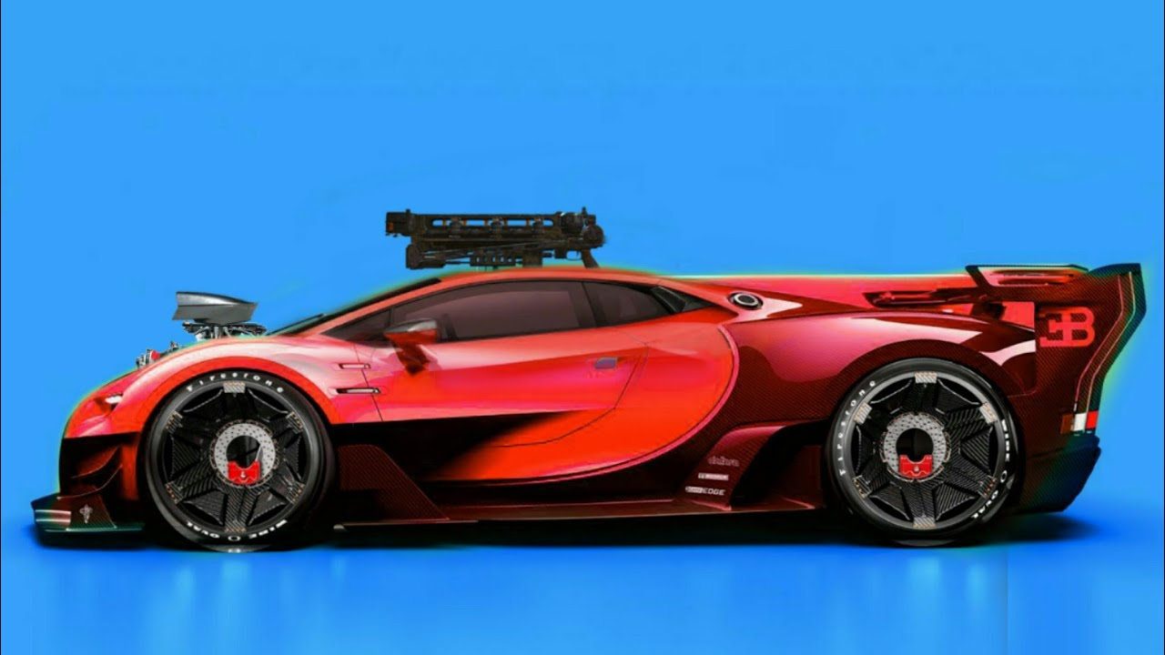 Modified Bugatti Monster Car Photoshop 3 Youtube