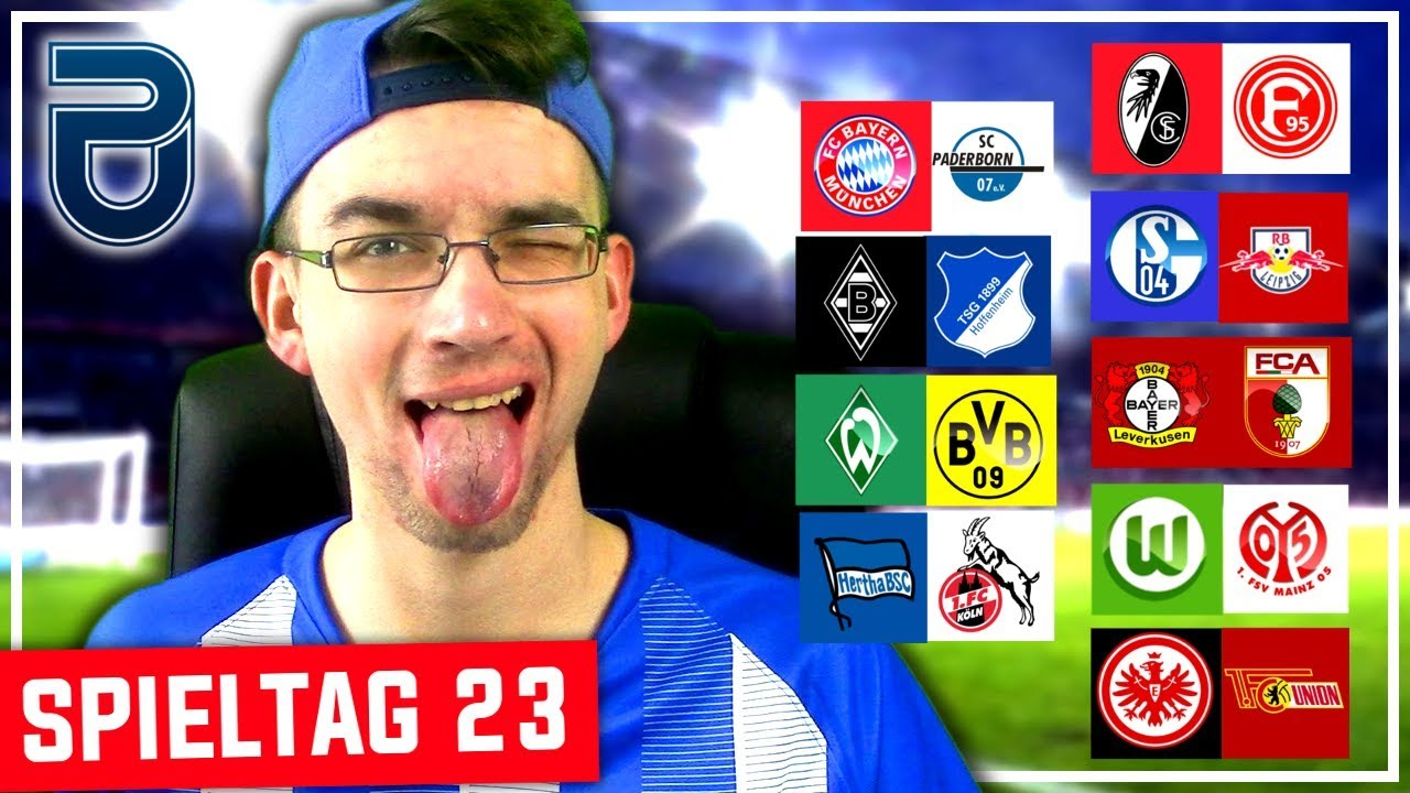Bundesliga Spieltag 23