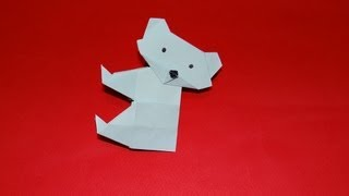 How To Make An Origami Bear - Kirigami