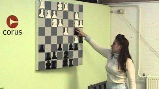 Judit Polgar analyzing her win over Karpov in Wijk aan Zee in 2003 - Part1