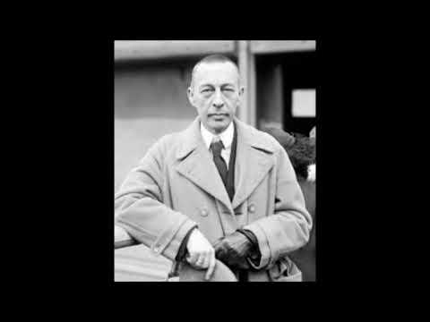 rachmaninoff  playing his rhapsody on a theme of paganini in 1934