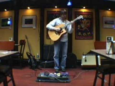Nastiest guitarist Dirk Quinn playing