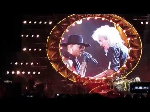 Queen and Adam Lambert in Tel Aviv, Israel. 12.09.2016