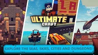 Ultimate Craft: Exploration oḟ Blocky World Android Gameplay