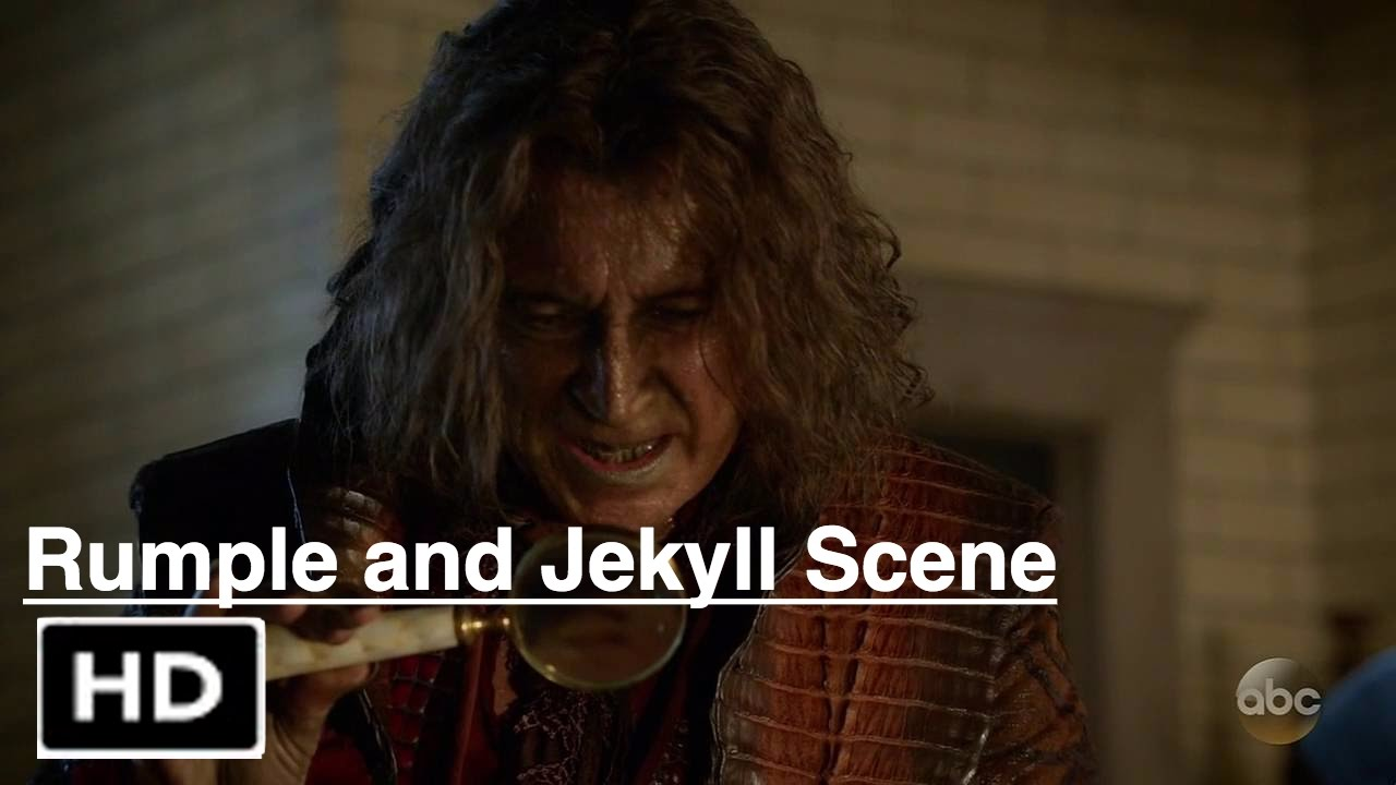 """Download Once Upon a Time 6x04 """"Rumple and Jekyll"""" Scene Season 6 Episode 4"""