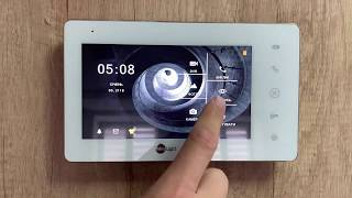 Обзор домофона NeoLight SIGMA+ HD с IPS экраном. Основные настройки.
