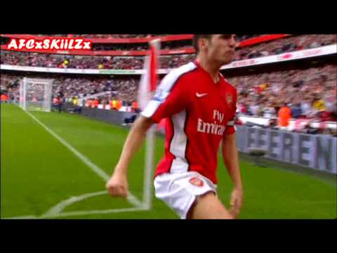 Cesc Fabregas - Arsenal - Goals & Skills - 2007/10 - HD
