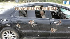 Frangible 9mm vs. Car