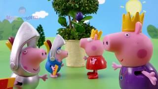 Свинка Пеппа и ЛИЗУН с клонами Заколдованное дерево со СЛИЗЬЮ Мультик из игрушек - Серия 75