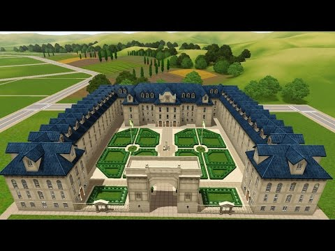 The Sims 3 Versailles -Speed Build- The School!