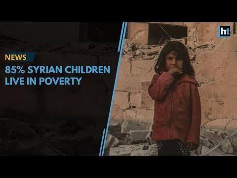 In Jordan, 85% Syrian children live in poverty