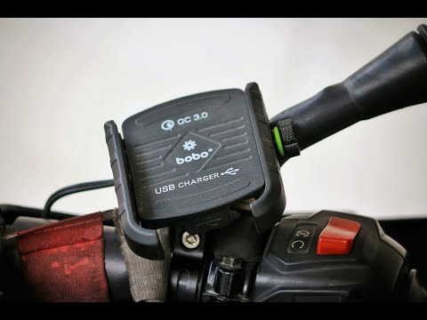 MUST NEEDED THING FOR LONG RIDES - Bobo Gear's Jaw Grip mobile holder: Water Proof