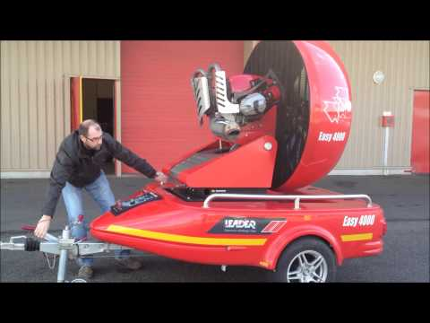 Easy 4000: Fire Fighting Large Flow Fan 115 HP 2 cylinder BMW engine
