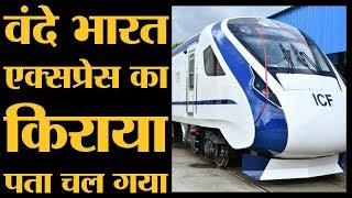 देश की सबसे तेज रफ्तार वाली  Vande Bharat express का किराया पता चल गया | The Lallantop