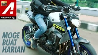 Review Yamaha MT-09 Indonesia by AutonetMagz with Harald Arkan