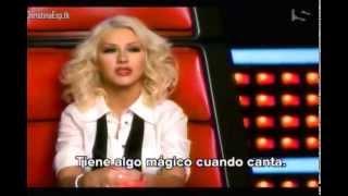 ¡SUBIDO! Christina Aguilera - Ep 12 The Voice 5° temporada COMPLETO (Subulado)