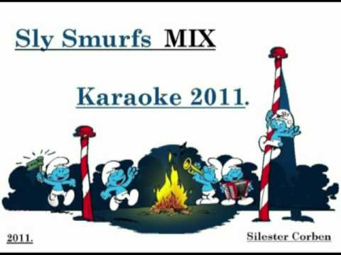Sly Corben Smurfs Karaoke 2011  Everytime We Touch