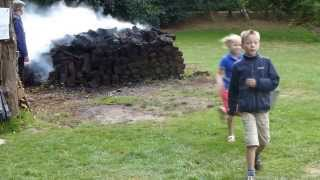 Brand in het Veenpark Barger-Compascuum