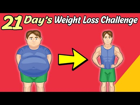 21 DAYS WEIGHT LOSS CHALLENGE | Weight Loss Tips in Hindi | Beginners| Men | Women | Fat | Urdu